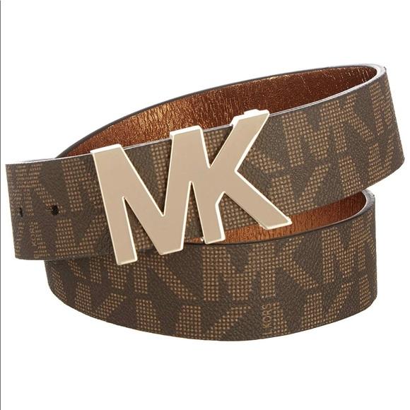 3ac615815b9c1 🌟New Authentic Mk Logo Brown belt🌟